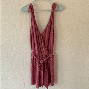 Abercrombie and Fitch Wrap Front Romper